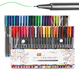 Best Colored Markers - Fineliner Color Pen Set 48 Colors, Magicfly 0.38mm Review