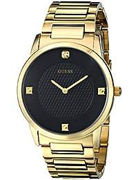 Men's Stainless Steel Diamond Dial Bracelet Watch, Color...