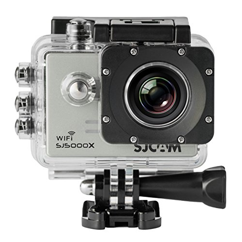 SJCAM SJ5000X Elite Action Camera 4K 1080P WiFi Waterproof 170°Wide Angle Lens 12MP SONY IMX078 Gyro AV or HDMI Out And OSD Enabled SILVER Action Cameras SJCAM