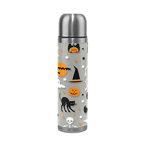 Halloween Elementos calavera calabaza termo niños botella de ...
