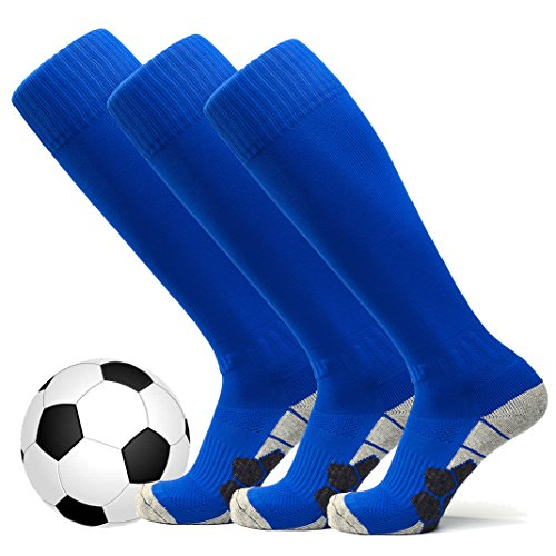 welltree Unisex Knee High Soccer & Football Cushion Socks(Youngsters/Youth/Grownup) – DiZiSports Store
