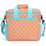 MIER 24-can Large Capacity Soft Cooler Tote Insulated...