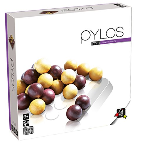 Gigamic - Pylos Mini - Travel size easy to carry, Modern classic abstract strategy game, 2 players, in wood ()