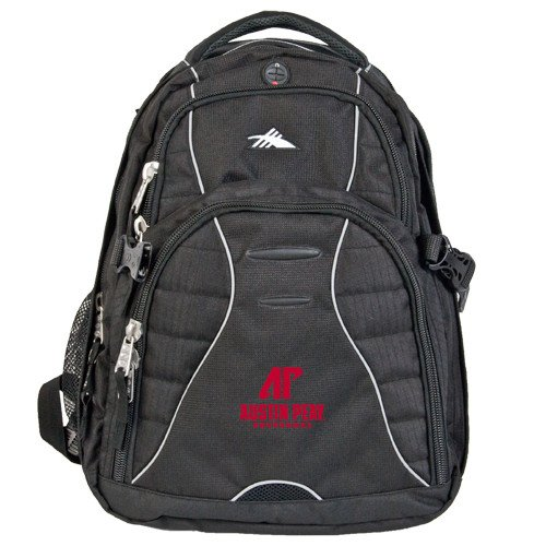 Austin Peay High Sierra Swerve Compu Backpack 'AP Austin Peay Governors - Official Athletic Logo' by CollegeFanGear