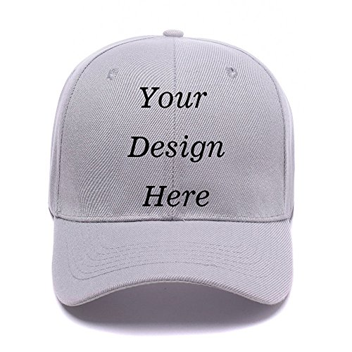 Unisex Cotton Baseball Cap - Custom Personalized Adjustable Hat Hats - Personalized Hats
