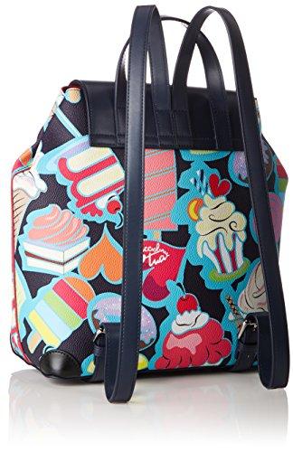 Tua by Braccialini Fantasy, Borsa a Zainetto Donna, 30x30x13 cm (W x H x L) Multicolore (Candy)
