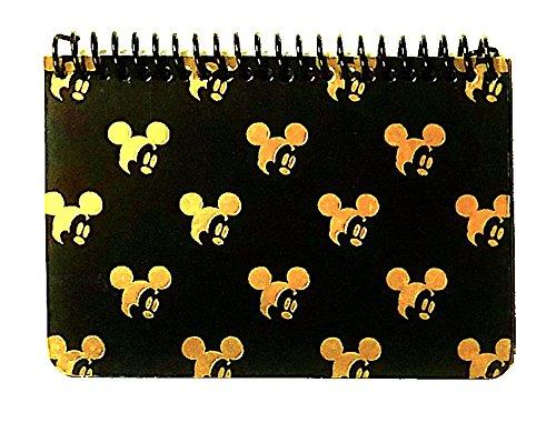 Autograph Mickey (DISNEY MICKEY MOUSE BLACK SPIRAL AUTOGRAPH BOOK - GOLD (SMALLHEAD))