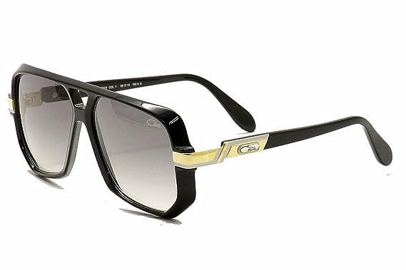 Amazon.com: Cazal anteojos de sol CZ 627/3 001 negro y oro ...