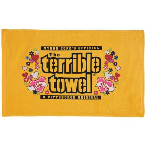 NFL Pittsburgh Steelers Mother's Day Terrible Towel, Gold]()