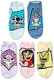 Disney womens Lilo & Stitch 5 Pack No Show Casual