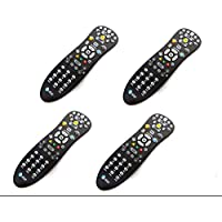 4-LOT Bulk 4 LOT Genuine AT&T U-Verse Uverse S10-S3 Standard IR Infrared Multifunctional Digital DVR TV Television Universal Cable Box Black Remote Control Controller C1-517609733288, CYB UG-R31111