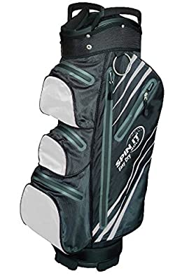 Easy Dry - Water Resistant Golf Bag - Black/Silver