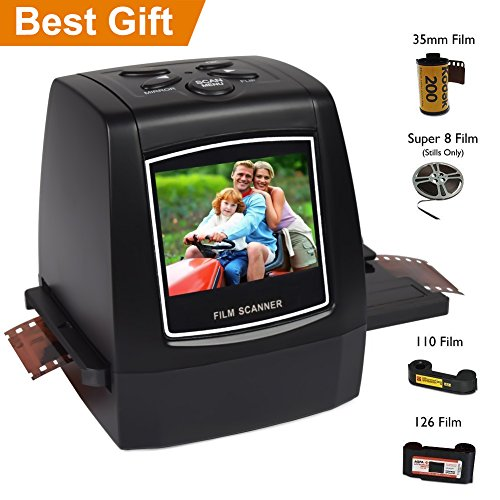 Find Discount Digitnow 22MP/14MP All In 1 Slide,Film and Negative Scanner for 35mm, 110, 126, and Su...