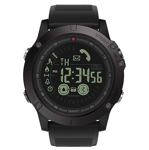 VERYNNA Reloj Inteligente Smartwatch Robusto 33 Meses de Tiempo de ...