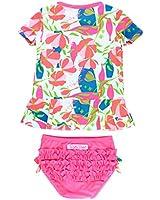 YOBAAF Baby Swimsuit/Long Sleeve Rash Guard UPF...