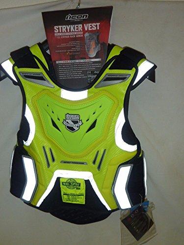 Icon Mil-Spec Yellow Stryker Vest L/XL - 2701-0516