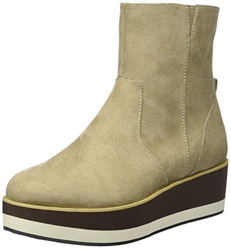 BULLBOXER Stiefel Damen Ankle Taupe Boot Beige q1HvZrqw