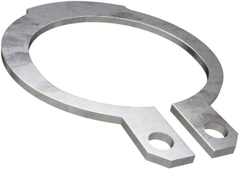 4x0.4 x1 Sicherungsringe f/ür Wellen Edelstahl A2 DIN 471