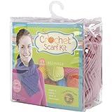 Beginner Crochet Scarf Kit-Dusty Rose