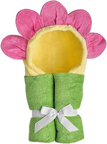 Yikes Twins Child Hooded Towel - Flower]()