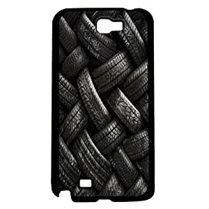 Pile of Black Tires Hard Snap on Phone Case (Note 2 II) by icecream design