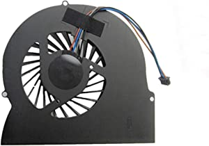 SYWpcparts MF60150V1-C001-S9A MF60150V1-C000-S9A Fan Compatible with HP EliteBook 8560W 8570W CPU Cooling Fan Cooler 4-Pin 4-Wire