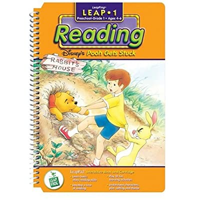 First Grade LeapPad Book: Pooh Gets Stuck: Office Products