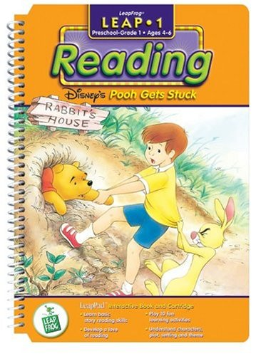 Leappad Learning First System - First Grade LeapPad Book: Pooh Gets Stuck