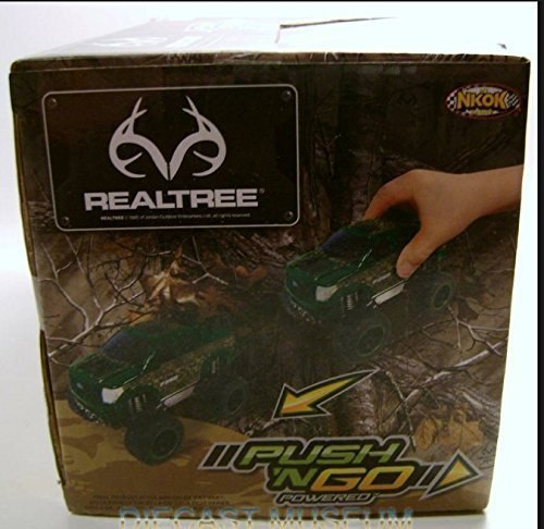 Realtree Green Camouflage Push n Go Powered Ford F-250 Toy Truck ()