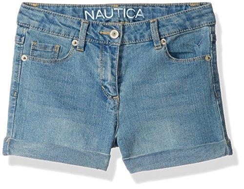 Nautica Girls Skinny Denim Short