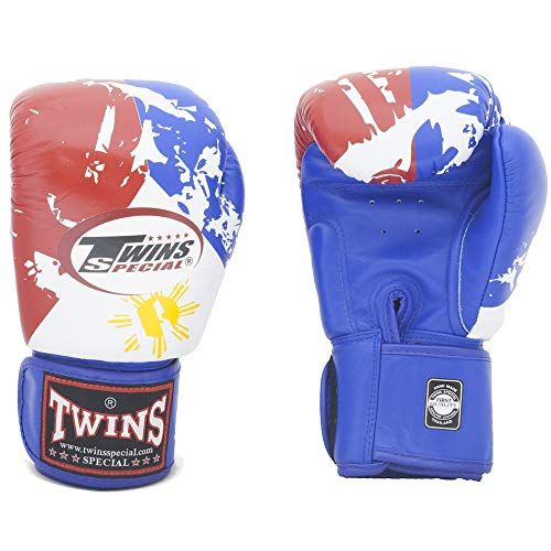 Twins Gloves for Training and Sparring Boxing, Muay Thai, Kickboxing, MMA (Philippines,14 oz)