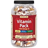 Fitness Labs Vitamin Pack with Omega-3s (90 Packets) Review