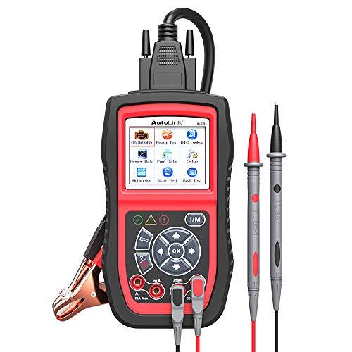 Autel AL539B OBD2 Scanner Code Reader Battery Tester Avometer for