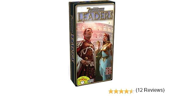 7 wonders leaders (expansion en Castellano): Amazon.es: Juguetes y juegos