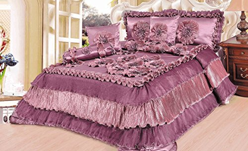 Tache Home Fashion BM5244-CK 6 Piece Napa Valley Comforter Set, California - Valley Fashion California