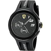 Ferrari FXX 830225 Men's Stainless Steel Watch (Black)