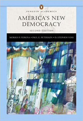 ;;TOP;; America's New Democracy (Penguin Academics Series) With LP.com Version 2.0 (2nd Edition). Links powerful Stream Severe Sigma
