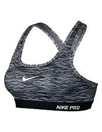 Nike Pro Classic Padded Reflect Women's Sports Bra Large