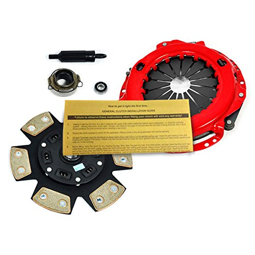4wd 1988 Toyota Pickup (EFT STAGE 3 HD CLUTCH KIT FOR 93-95 TOYOTA PICKUP 4RUNNER 2.4L 4WD 22RE 22RTEC)
