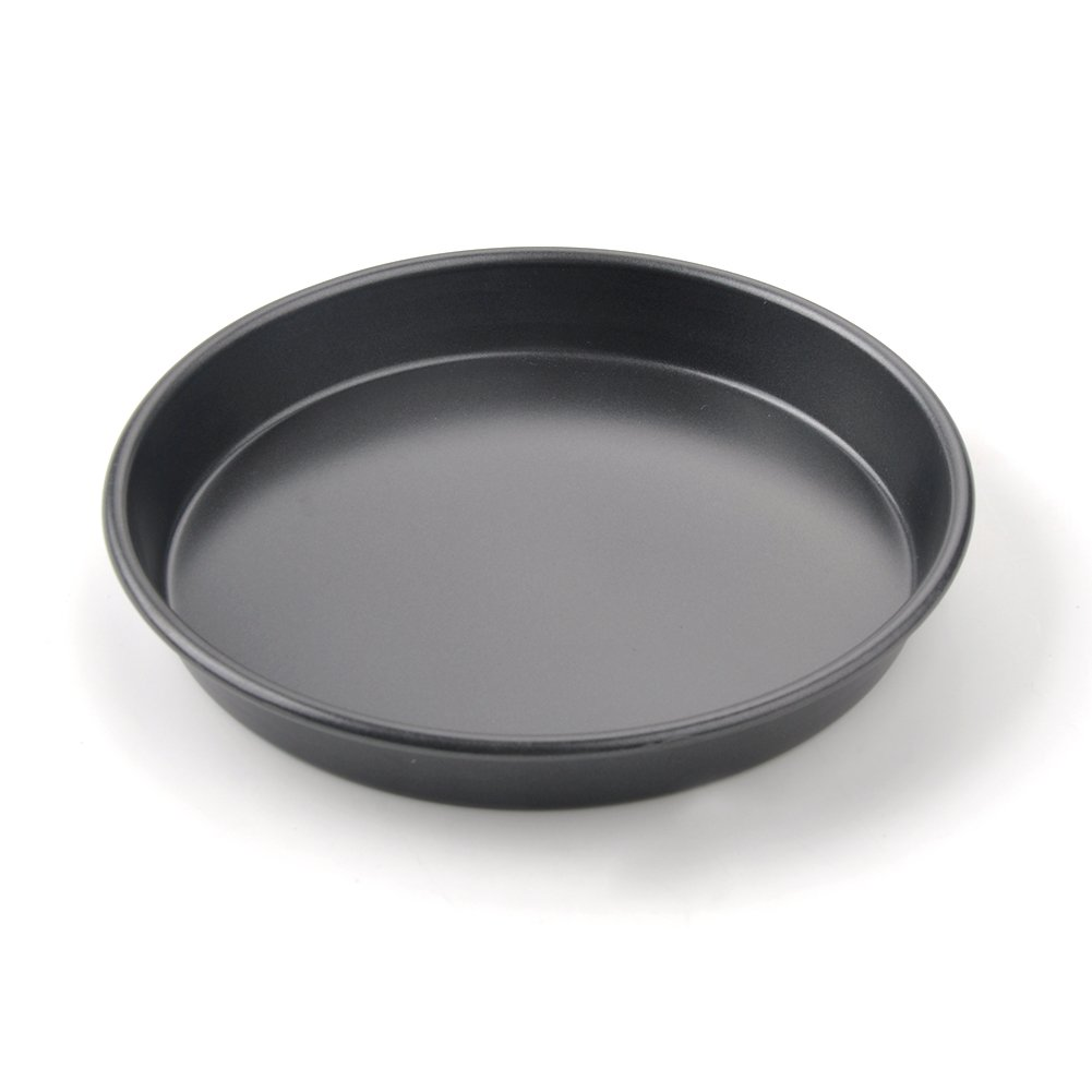 7Inch,Shallow Dish 7 8 9 10Inch Pizza Pie Baking Plate Non-Stick Aluminum Shallow Baking Mold Cook Cookware Baking Pans for Home Kitchen