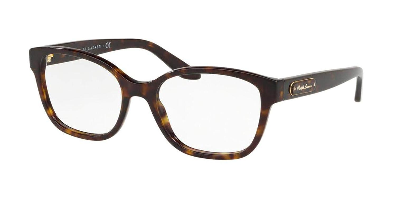 Ralph Lauren RL6176 Eyeglass Frames 5003-54 Dark Havana RL6176-5003-54