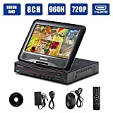 quick access safe pc 900 - H.264 8CH 1080N AHD/Onvif 720P 1080P Hybrid NVR/960H CCTV Network Security DVR 3 in 1 w/ 10.1inch LCD Monitor P2P QR Scan Easy Setup Phone Remote View HDMI VGA Output Motion Detection(Black,No HDD)