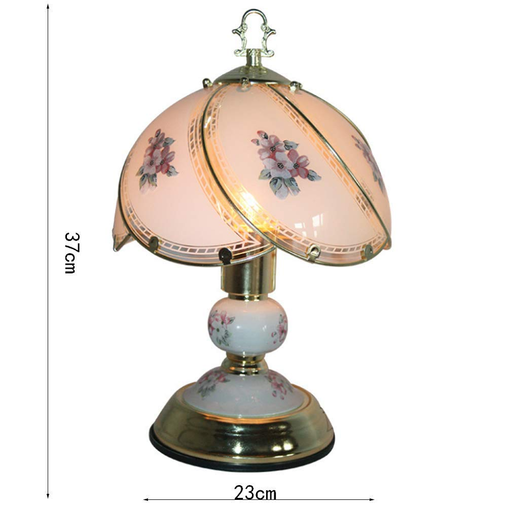 Chandeliermodern Romance Tallado Flor de oro Patternglass Sombra ...