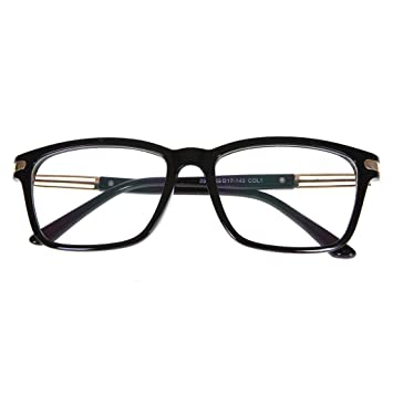 Amazon.com: 1 PR Black Frame Photochromic Myopia Glasses -0.50 ...