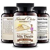 Cheap Certified Organic Milk Thistle Extract (80% Silymarin Flavonoids) Plus Turmeric – 120 Veggie Capsules