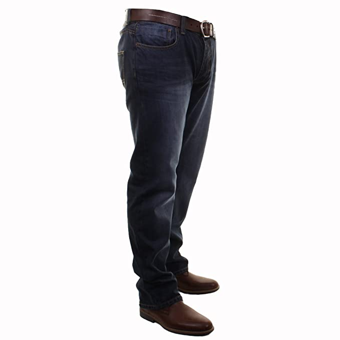 6221e6e1 Mens Firetrap Roma Fit Straight Leg Casual Jeans In Denimwash & Stonewash:  Amazon.co.uk: Clothing