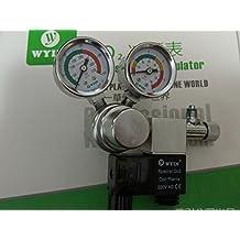 Aquarium WYIN CO2 Regulator, plants! Solenoid Check Valve, Speed control Valve, bubble counters W01-00 (cga320)