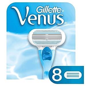 Gillette Venus Women's Original 3 Blade Razor Refills, 8 Count