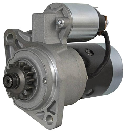 NEW 12V 15 TOOTH 1.6KW OSGR STARTER MOTOR FITS MITSUBISHI TRACTOR D1650 D1850 D2050 ()