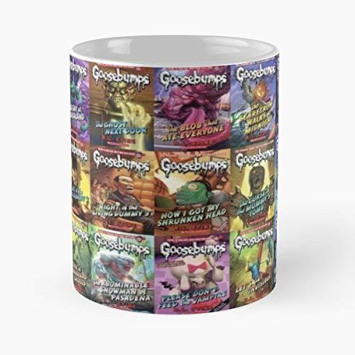 Goosebump Book Books Kids Ceramic Coffee Mugs 11 Oz - Funny Best -